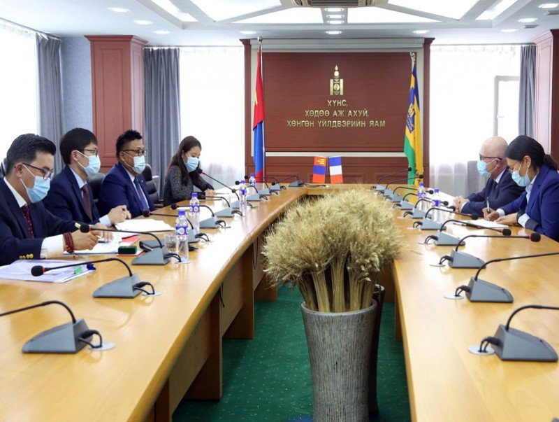 Сайд З.Мэндсайхан Франц Улсаас Монгол Улсад суугаа Элчин сайдыг хүлээн авч уулзлаа