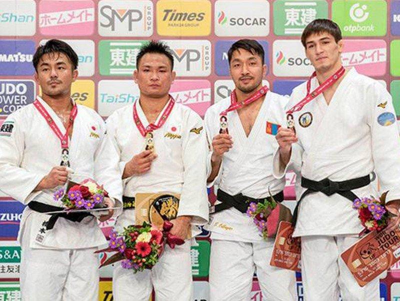 Монгол Улсын гавьяат тамирчин Г.Одбаяр хүрэл медаль хүртэв