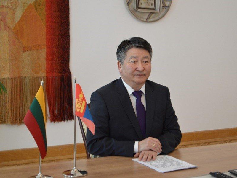 Монгол Улсаас Бүгд Найрамдах Литва Улсад суух Элчин сайд Б.Дорж Итгэмжлэх жуух бичгээ өргөн барив