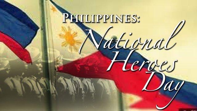 2019.08.26 Өнөөдөр Филиппиний үндэсний баатруудын өдөр тохиож байна.