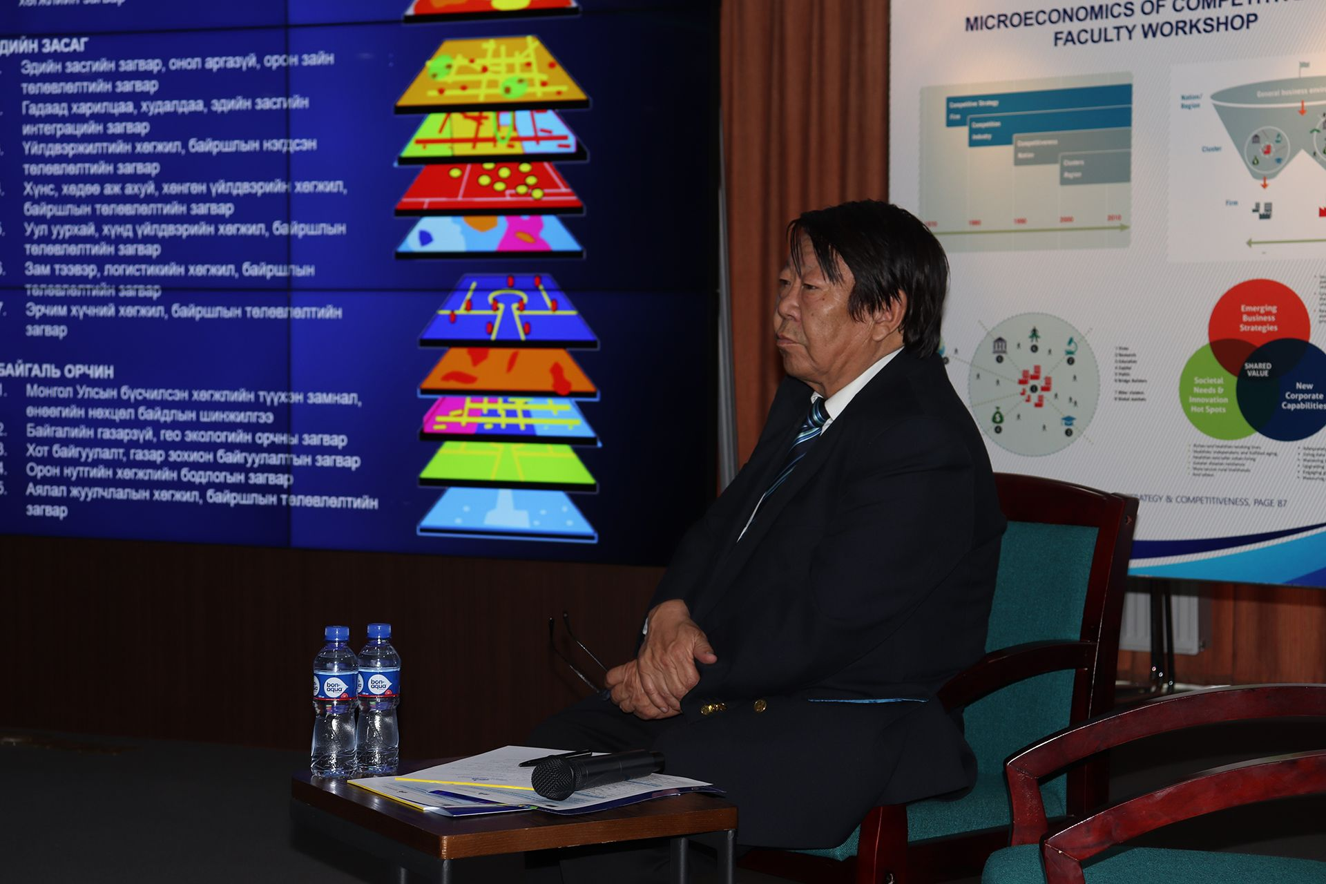 Academician Dorj Tuvd, Vice President of Academy of Science