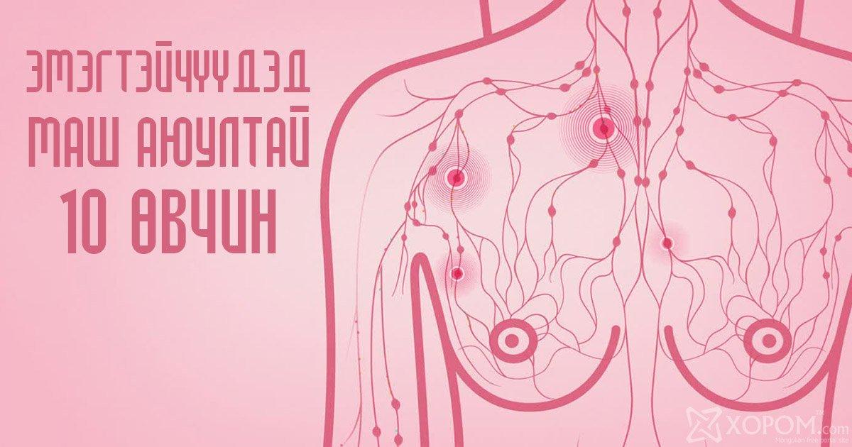 Эмэгтэйчүүдэд маш аюултай, шинж тэмдэг нь илэрдэггүй 10 өвчин