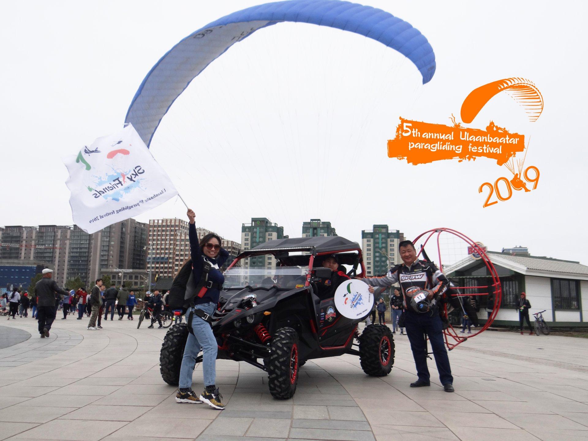 Энэ зуны анхны агаарын фестиваль Sky friends & Ulaanbaatar 5th paragliding festival 2019