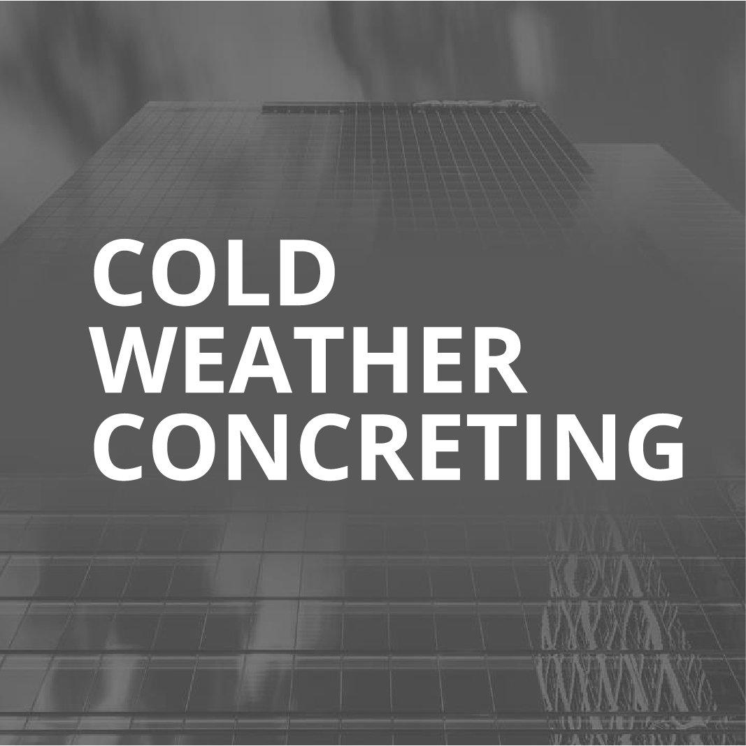 Хүйтэн цаг уурын нөхцөлд дэх бетон нийлүүлэх технологи ба үр өгөөж