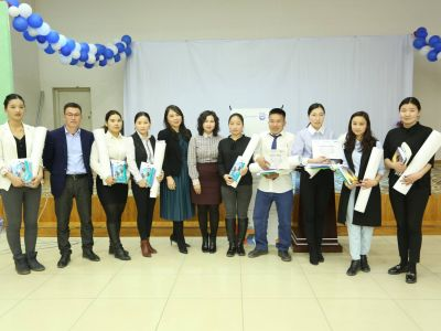 Project activities in Darkhan province