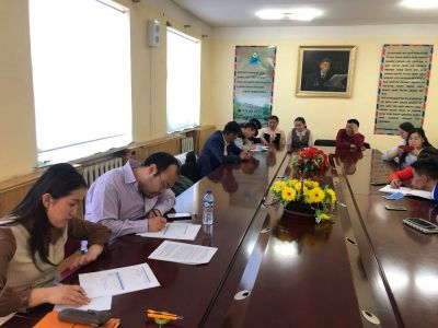 Project activities in Khuvsgul province