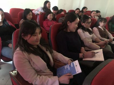 Project activities in Khovd province