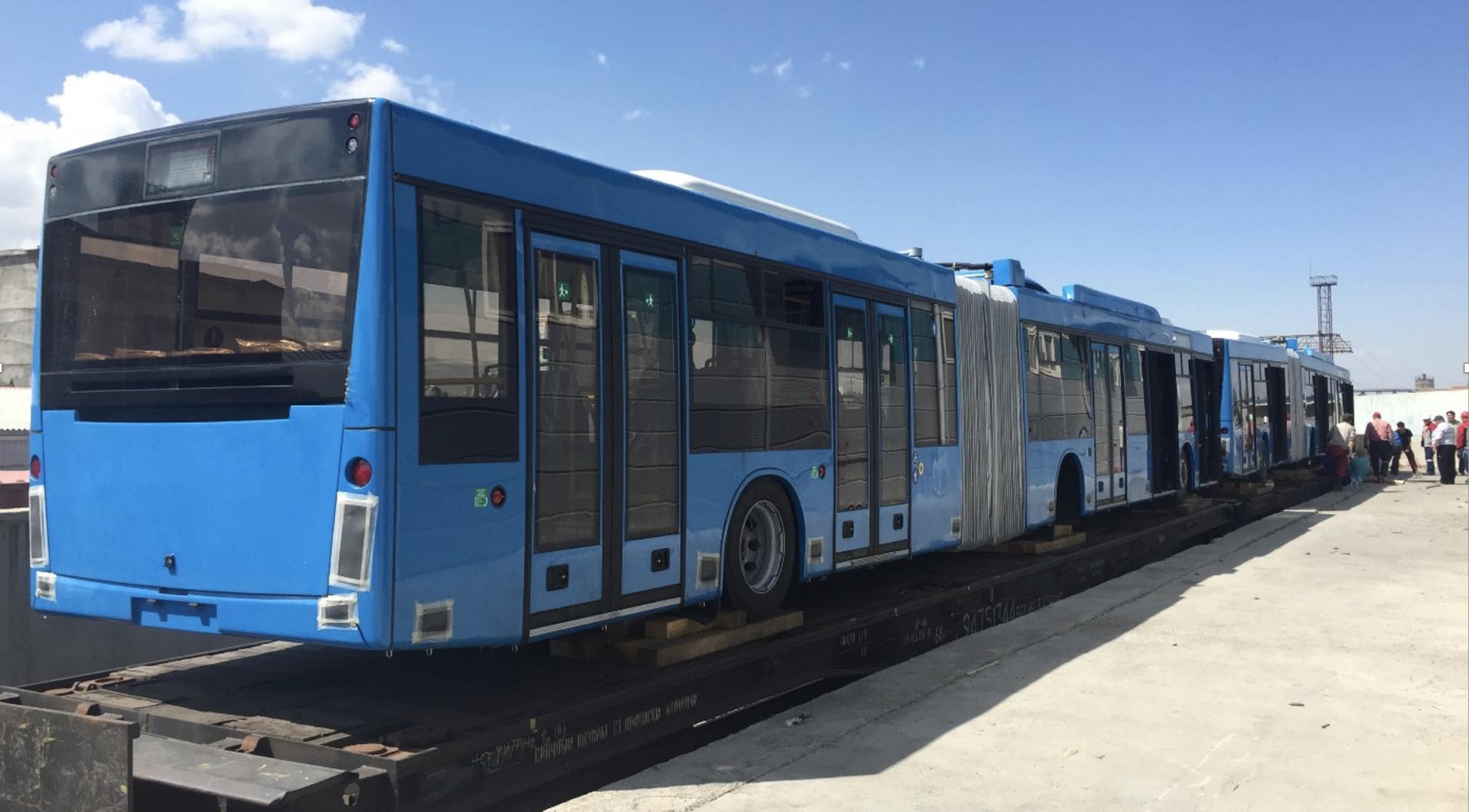 Улаанбаатар хотын нийтийн тээврийг сайжруулах төсөл