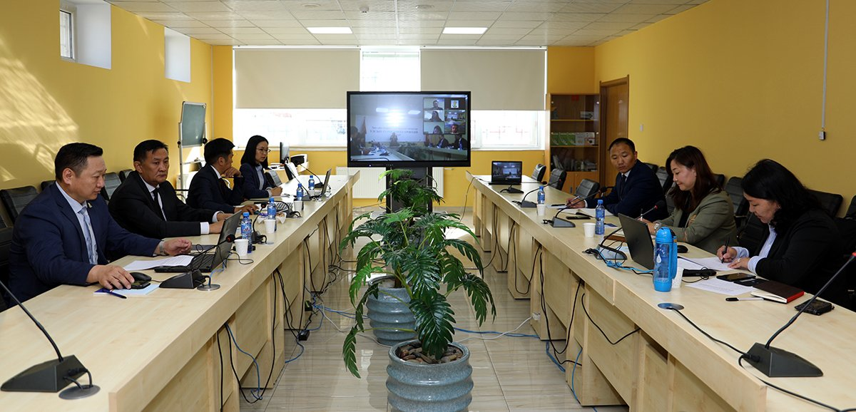 An online meeting was held with the ADB project manager