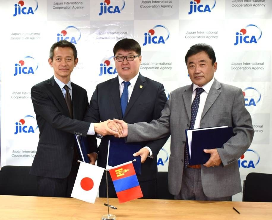 JICA signed Capacity Development Project for Air Pollution Control in Ulaanbaatar City