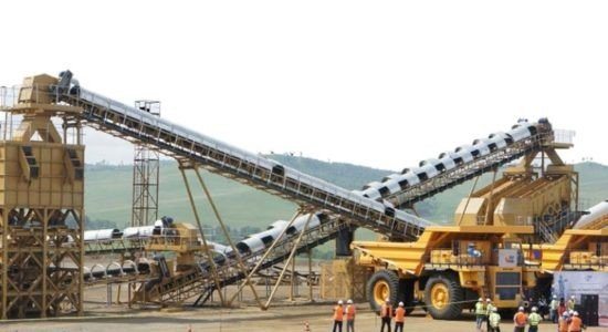 Mining and quarrying gross output increased