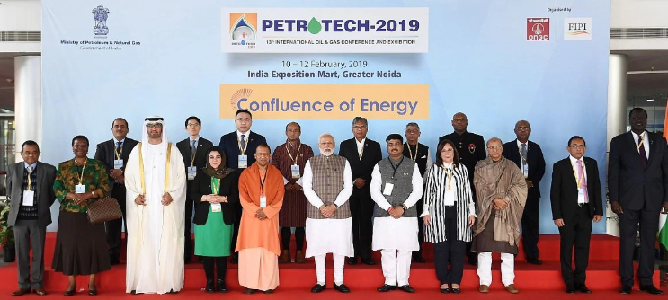Mongolian mining minister attending PETROTECH 2019 in India