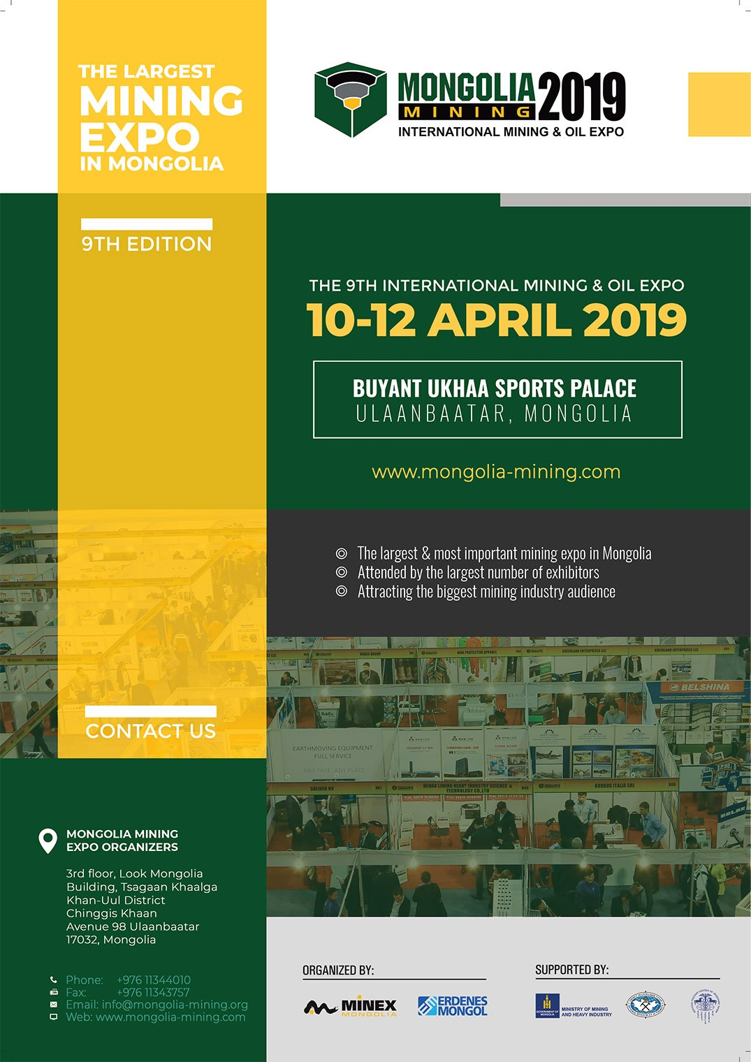 Mongolia Mining 2019 focusing on responsible mining