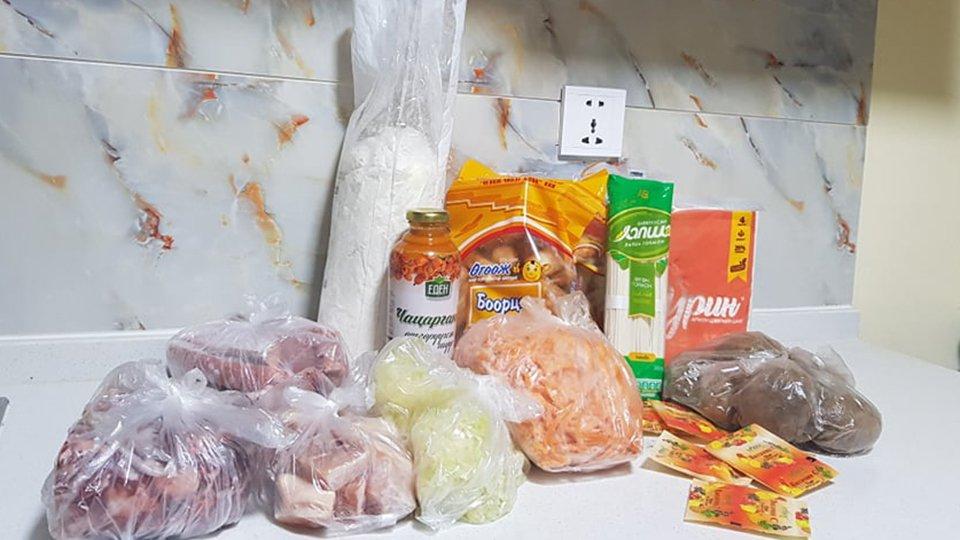 Мандах Их Сургуулийн захиргаанаас оюутны байранд амьдарч буй оюутнууддаа хоол хүнсний дэмжлэг үзүүллээ