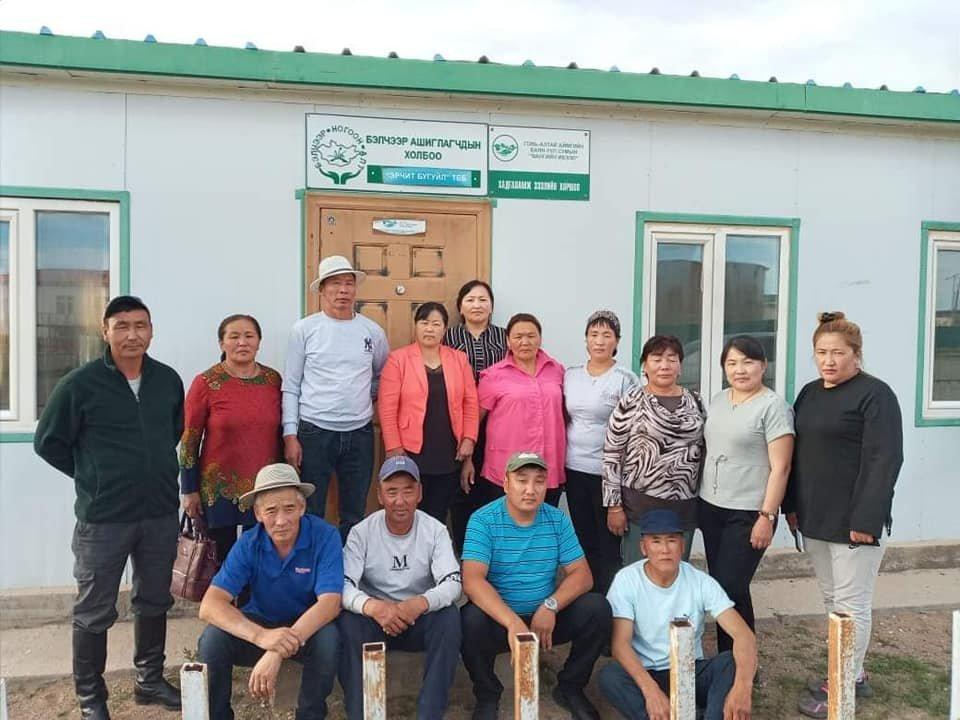 Study tour: Zavhan's SCC on Gobi-Altai aimag