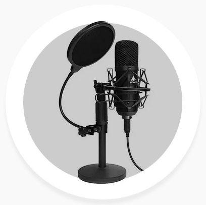 Подкаст микрофон