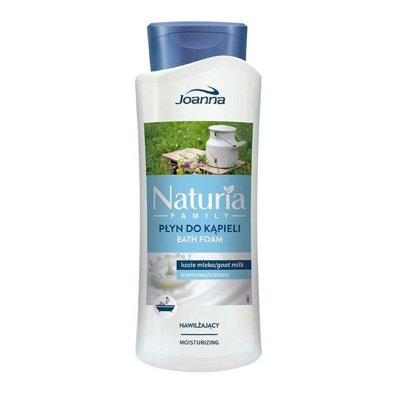 Ванны хөөс - сүүтэй, чийгшүүлэх 750мл Nature family bubble bath Goat milk