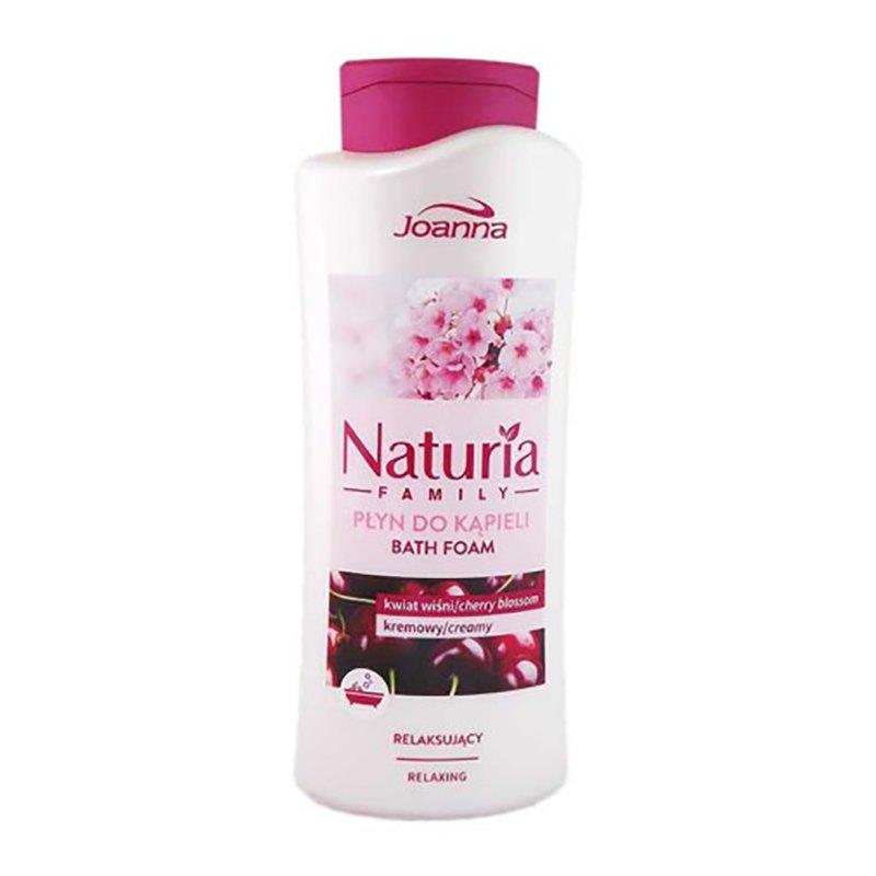 Ванны хөөс - интоортой, тайвшруулах 750мл Nature family bubble bath cherry blossom