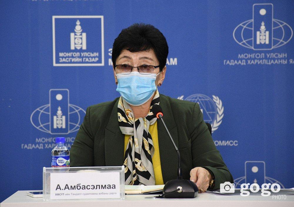А.Амбасэлмаа: Халдварын тоо буурсан гэж тайвшрах болоогүй