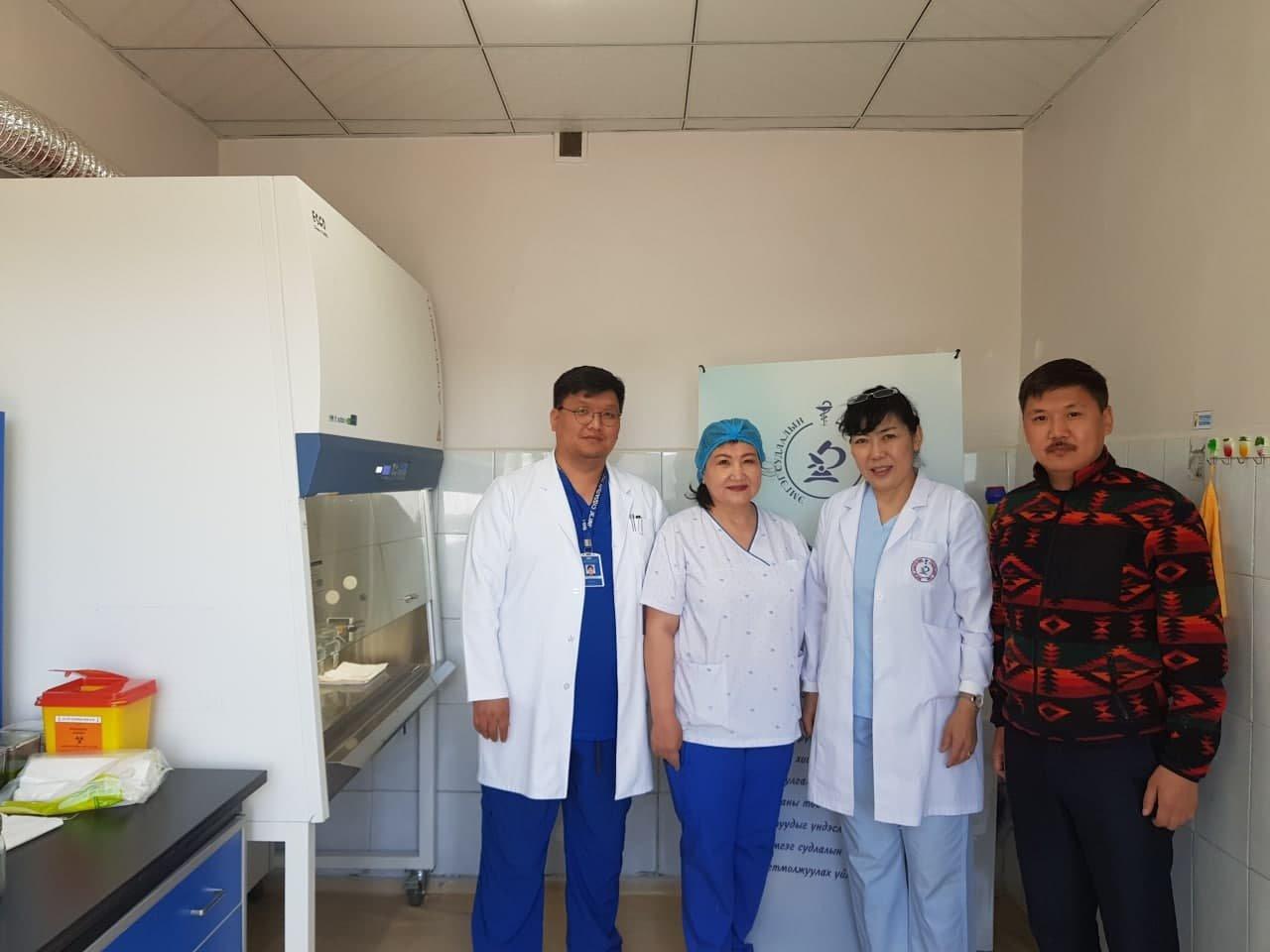 Дундговь аймгийн нэгдсэн эмнэлгийн эмгэг судлалын тусламж үйлчилгээг тогтмолжуулах үйл ажиллагаа явагдаж байна