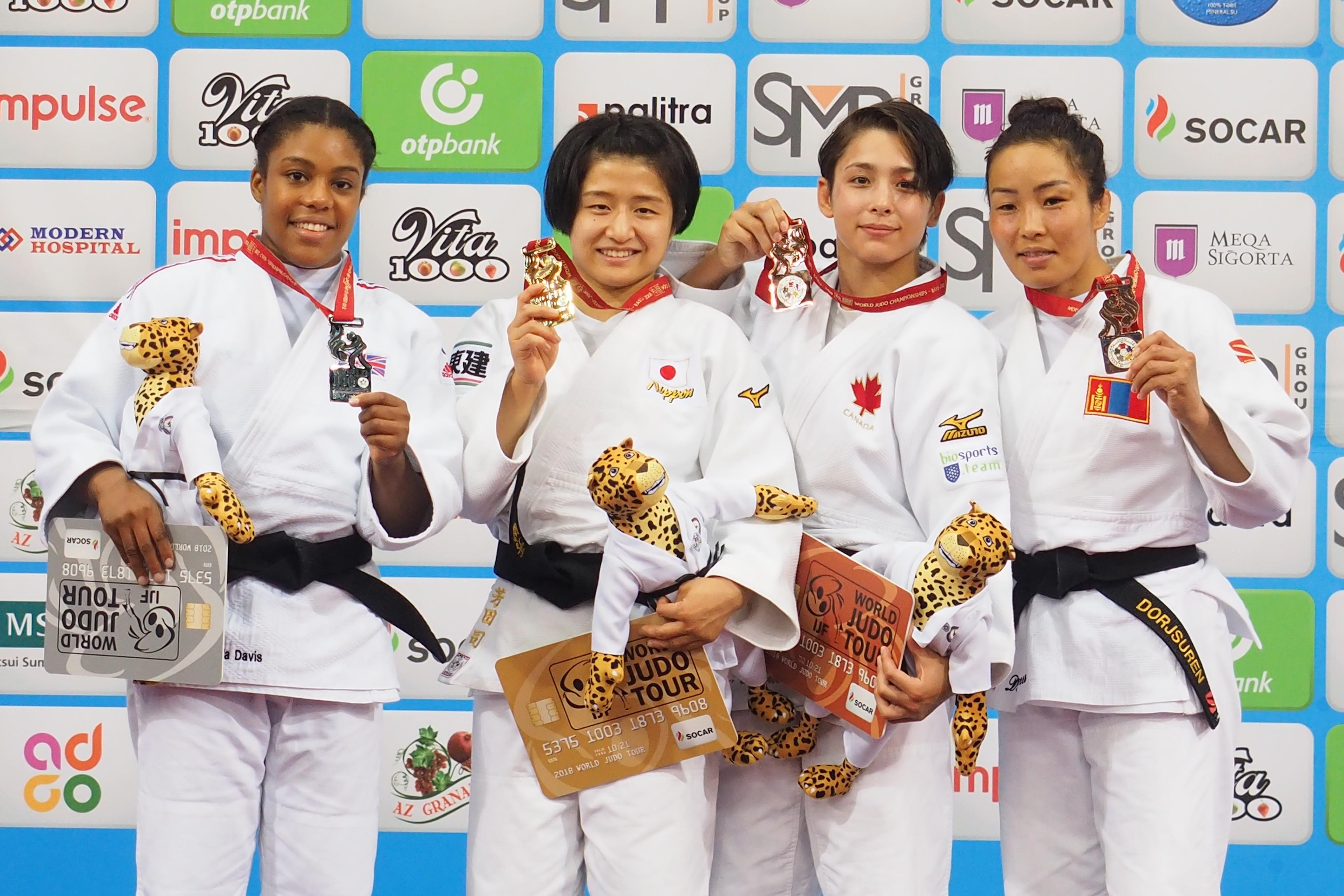 Д.Сумъяа ДАШТ-ээс гурван медаль хүртсэн Монголын анхны жүдоч боллоо