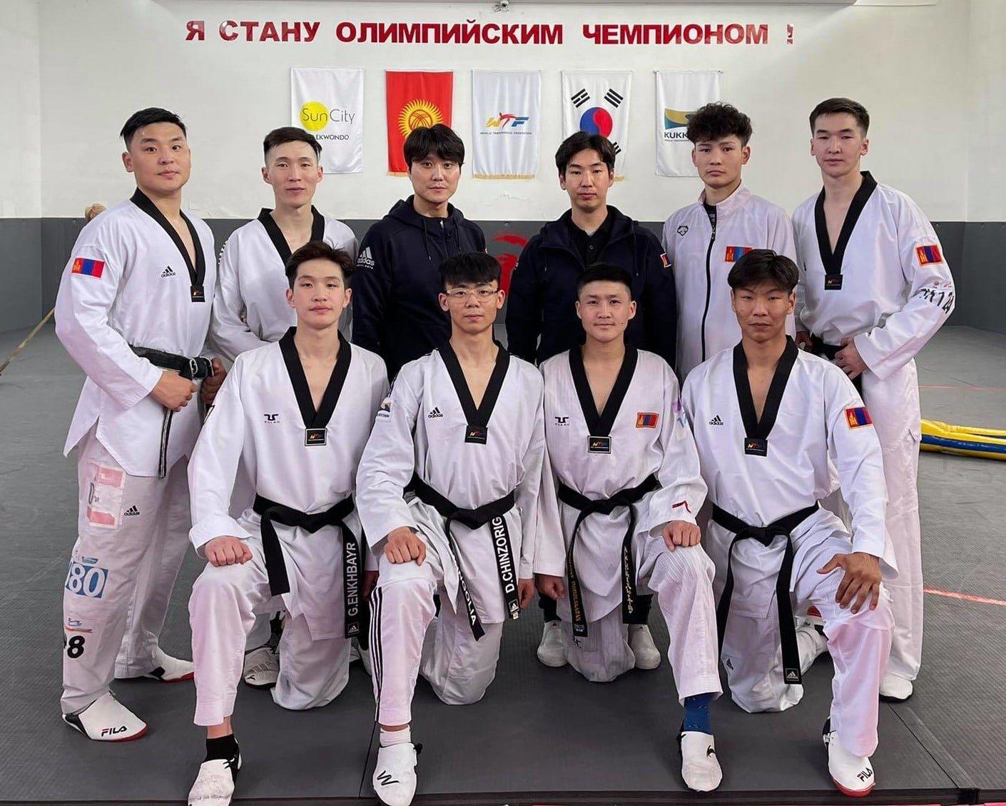 Тэквондочид олимп болон Азийн АШТ-ий бэлтгэлээ Кыргызстанд хангаж байна