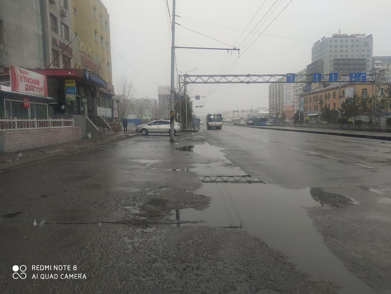 УЦУОШГ: Улаанбаатарт үүлшинэ, бороо, нойтон цас орно