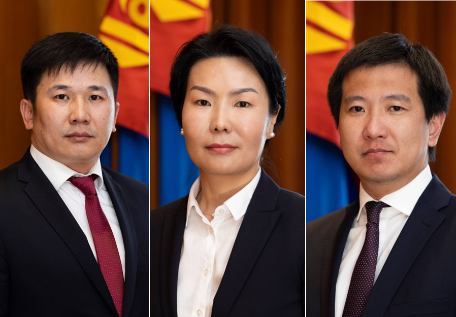 Монгол Улсын Ерөнхийлөгчийн Тамгын газрын удирдлагуудыг томиллоо