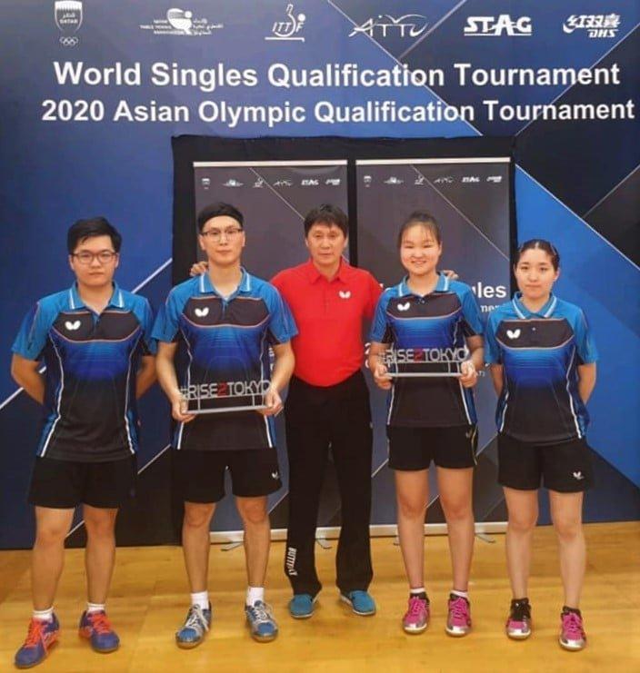 Монгол Улс түүхэндээ анх удаа олимпийн наадамд ширээний теннисний төрөлд оролцохоор боллоо