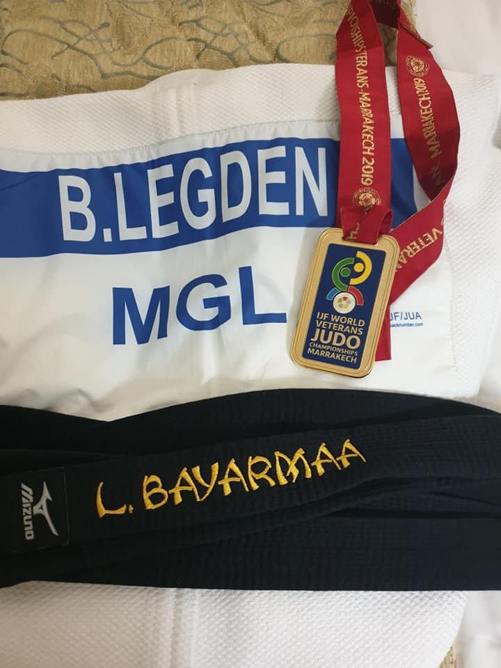 Л.Баярмаа дэлхийн гурван удаагийн аварга боллоо