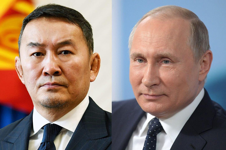 В.В.Путин Монгол Улсын Ерөнхийлөгчийн саналыг дэмжиж, вакцин үйлдвэрлэх боломжийг судлах Ажлын хэсэг гаргахаар боллоо
