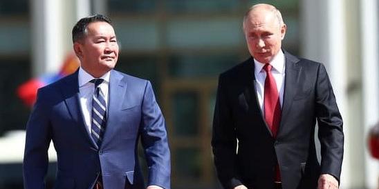 Монгол Улсын Ерөнхийлөгч Х.Баттулга ОХУ-ын Ерөнхийлөгч В.В.Путиныг угтан авлаа