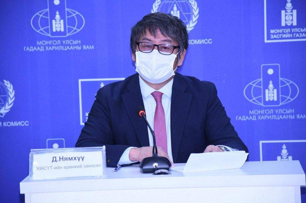 Д.Нямхүү: 12 хүнээс коронавирусийн халдвар илэрлээ