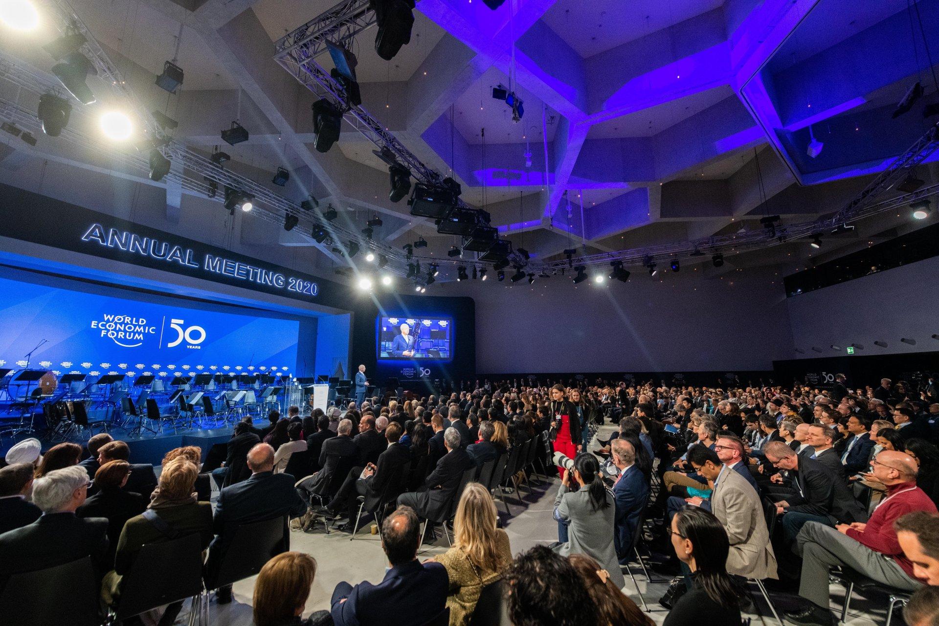 Ерөнхийлөгч Х.Баттулга Дэлхийн эдийн засгийн чуулганд оролцож байна