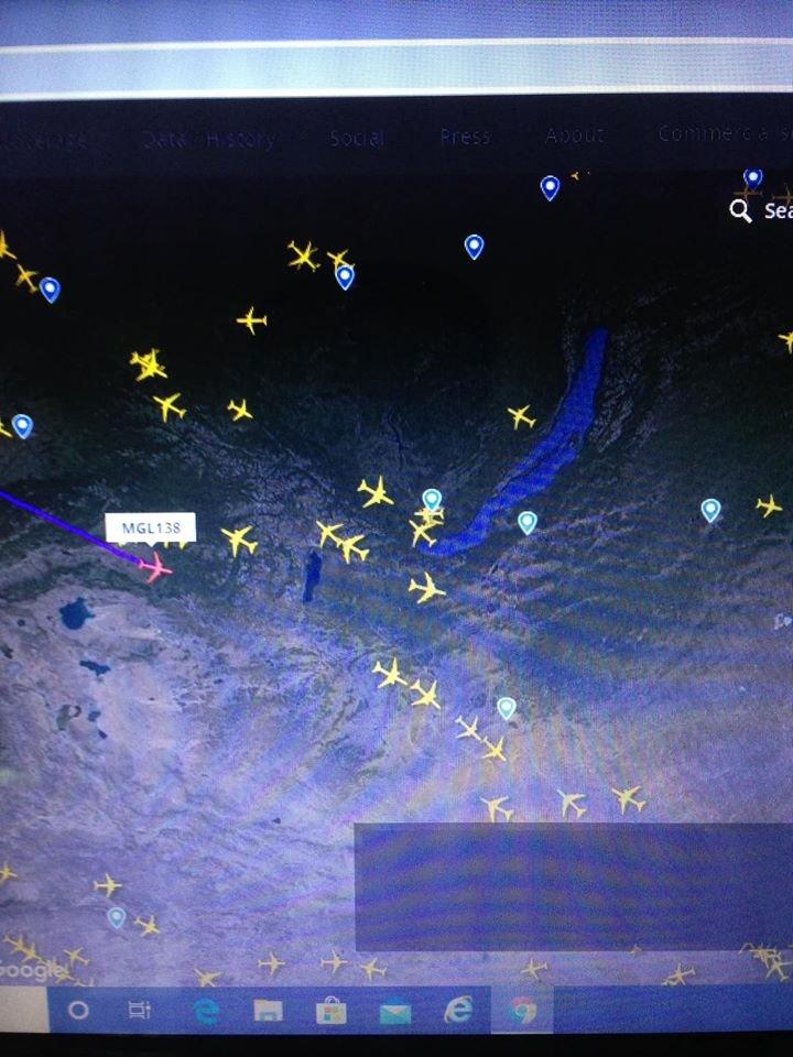 УОК: Сиатлл-Улаанбаатар тусгай үүргийн онгоц 10.49 цагт газардана
