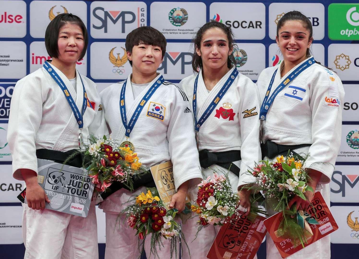 """Монгол улс """"Ташкент-2019"""" Гран Прид багаараа 13 байр эзэллээ"""