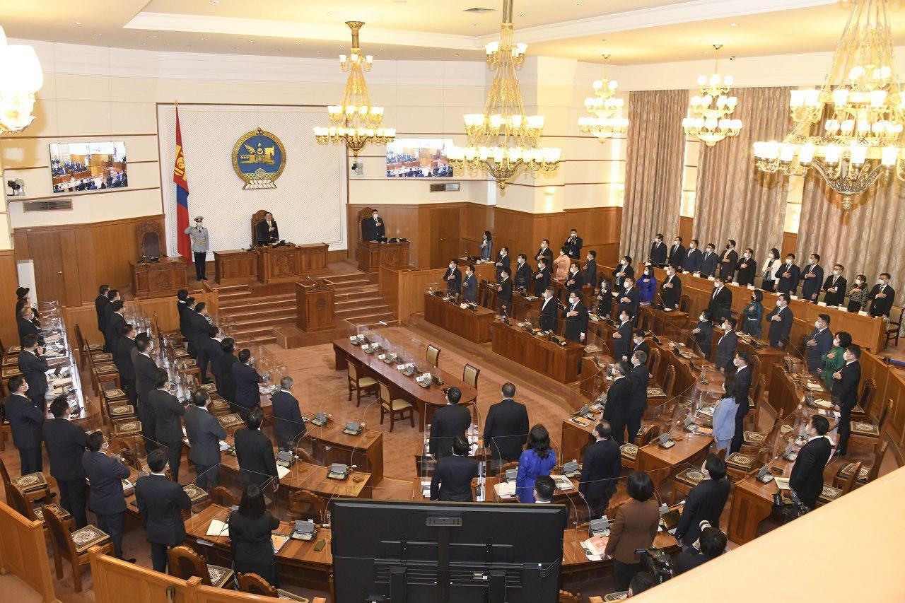 Улсын Их Хурлын 2021 оны хаврын ээлжит чуулган эхэллээ