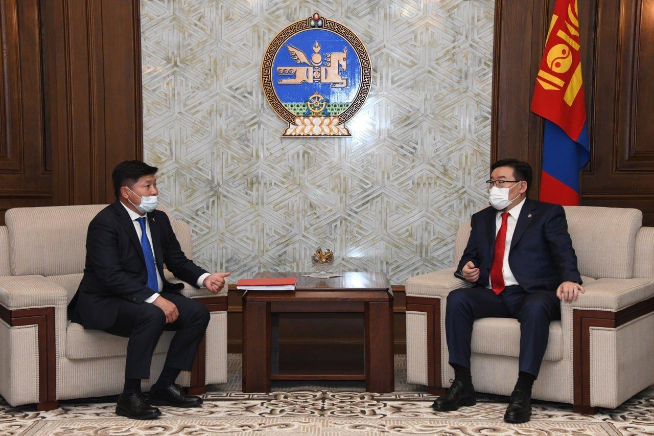 Монгол Улсын 2021 оны төсвийн тодотголын төслийг өргөн барив