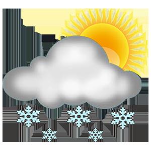 УЦУОШГ:  Өнөө шөнө, маргааш өдөртөө төв Төв болон зүүн аймгуудын нутгийн хойд хэсгээр цас орж, цасан шуурга шуурна