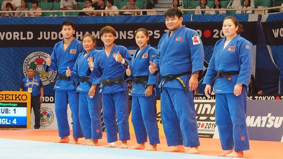 Жүдогийн ДАШТ-2019: Монгол Улсын шигшээ баг хүрэл медалийн төлөө өрсөлдөнө