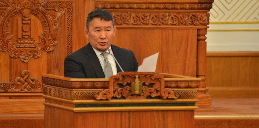 Ерөнхийлөгч Х.Баттулга  УИХ-ын чуулганд хаалттай мэдээлэл хийнэ