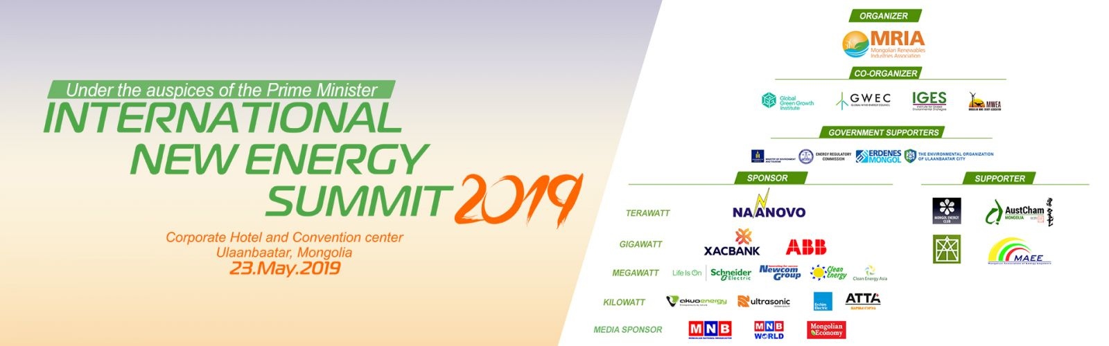 International New energy summit| summit forum|national
